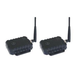 Transmits both video & audio
