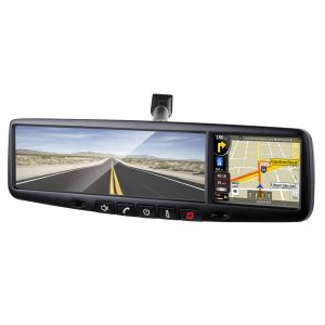 3.5″ Touch screen mirror monitor